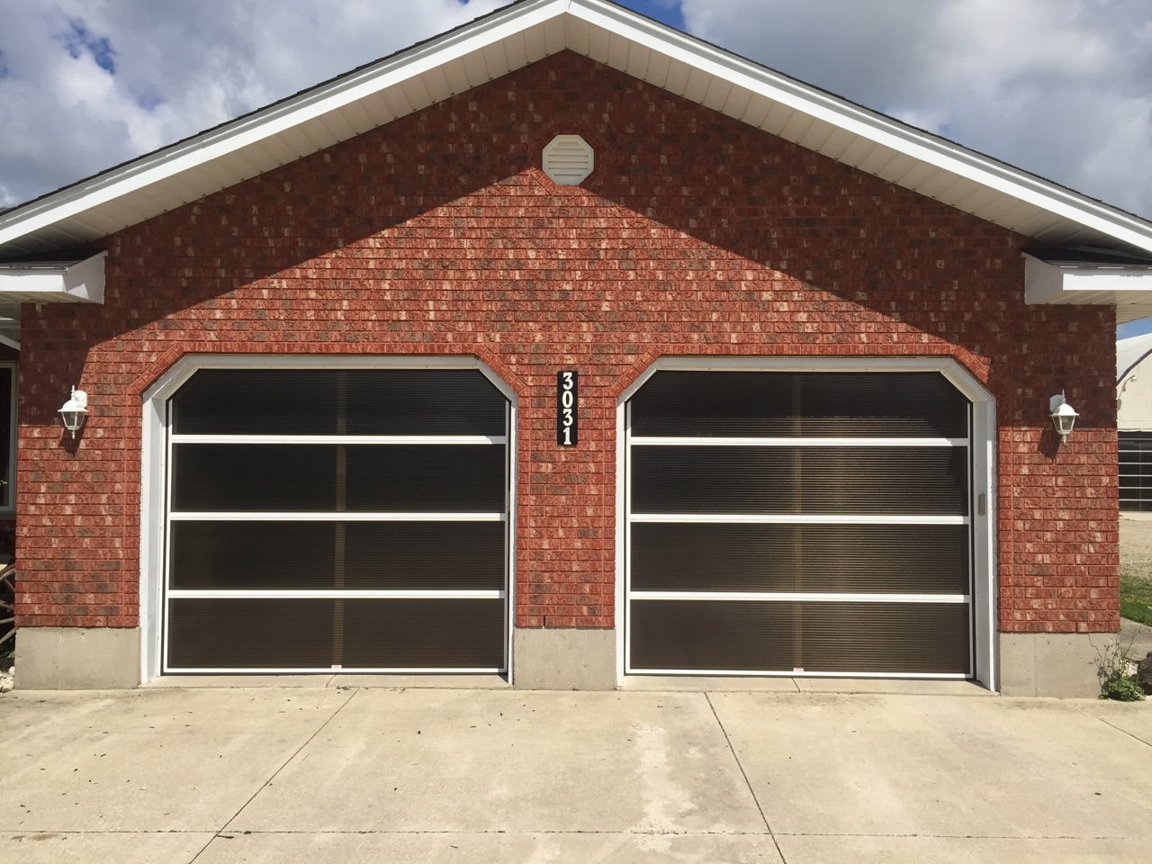 paint custom and brown painted doors for garage ideas design dark picture styles wageuzi tfast door fascinating