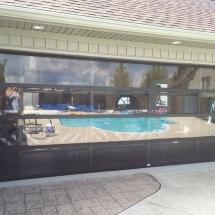 residential poly carbonate door