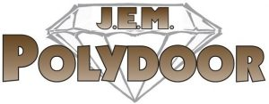 J.E.M. Ply door logo