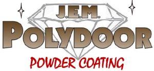 J.E.M. powder coating logo
