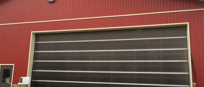Dark Bronze poly W- Clear Frames