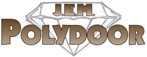 J.E.M. Ply door logo