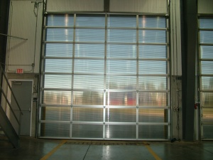 4 images combined of J.E.M. poly carbonate doors
